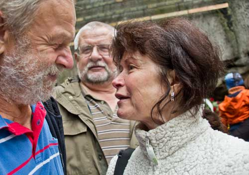 Kadálek, Igor Novák a Alena Čepelková