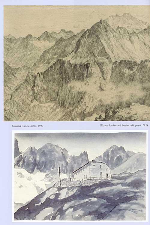 Prachtelovy kresby a malby Tater