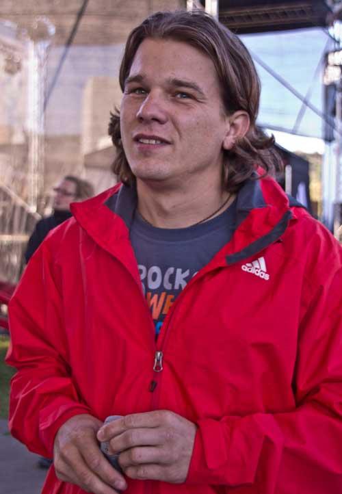 Moderátor David Kovářík