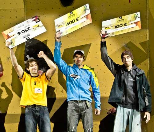 Vítězové boulderu muži