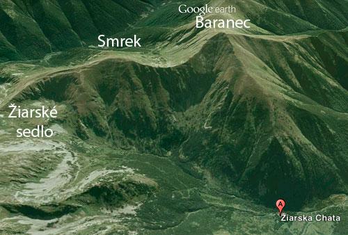 Okolí Žiarské chaty