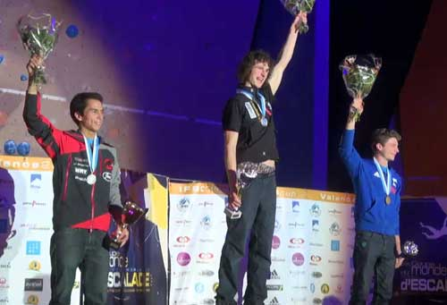 Sean McColl, Adam Ondra, Gautier Supper