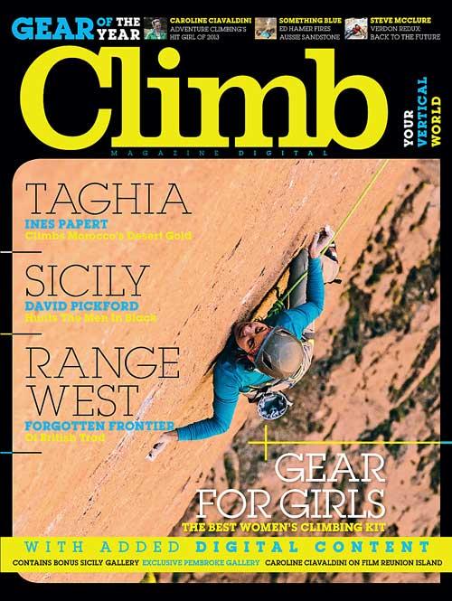 Obálka 104. čísla magazínu Climb