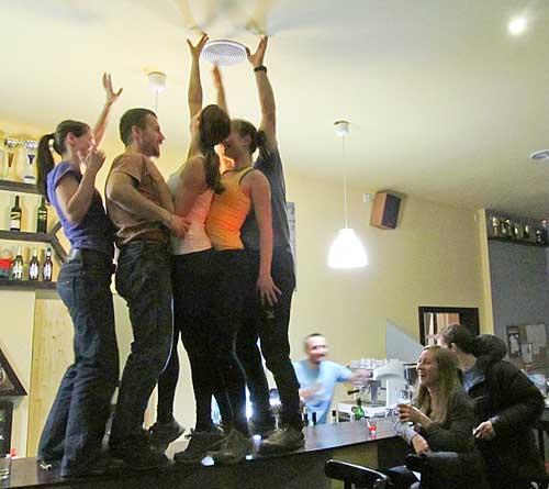 a párty byla velká, další fotografie podléhají cenzuře...