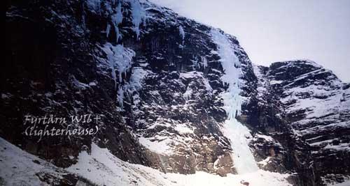 klasické ledopády, které jsou v Norsku ještě panenské