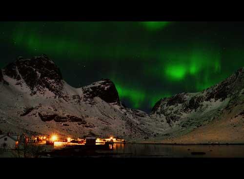 Kjerkfjord, Lofoty
