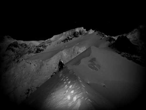 Ostruha Brevny, Mont Blanc