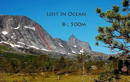 Lost in Ocean, náš prvovýstup v severním Norsku