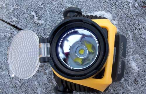 reflektor HP 15 s nazazeným difuzérem
