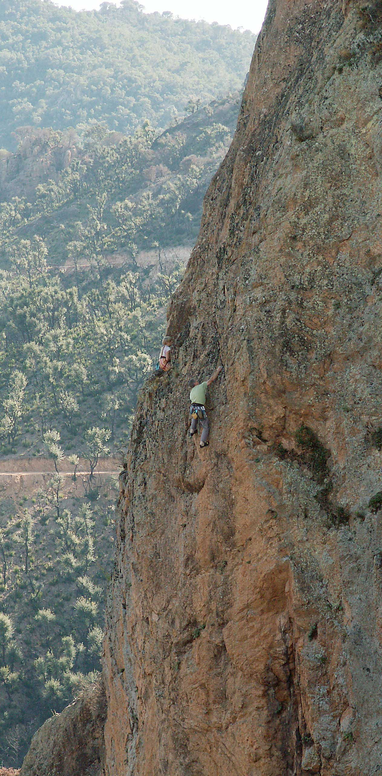Roca Ponca – východ, cesta Panoramix 7a+
