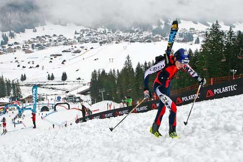Dominik Sádlo ve sprintu