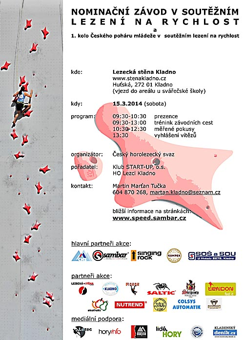 Plakát závodu