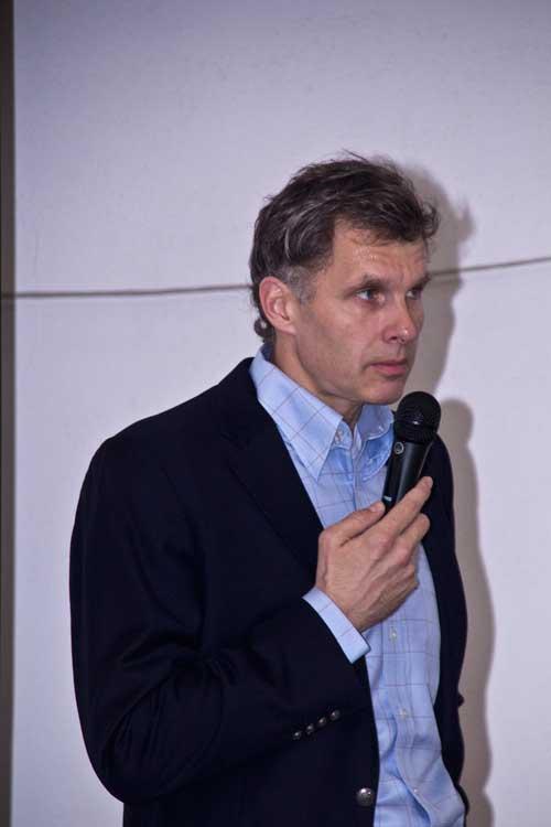 Předseda ČOV Jiří Kejval