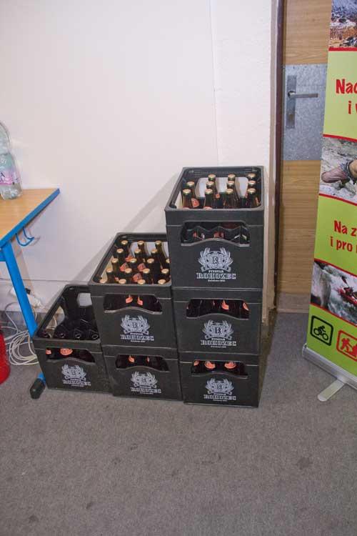 Sponzorské pivo z rohozce