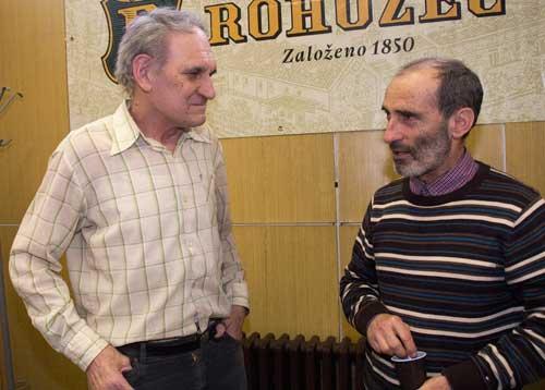 Zdeněk Lukeš a Igor Koller