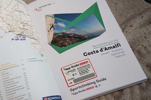 Costa Amalfi - stítací kód pro stažení dat