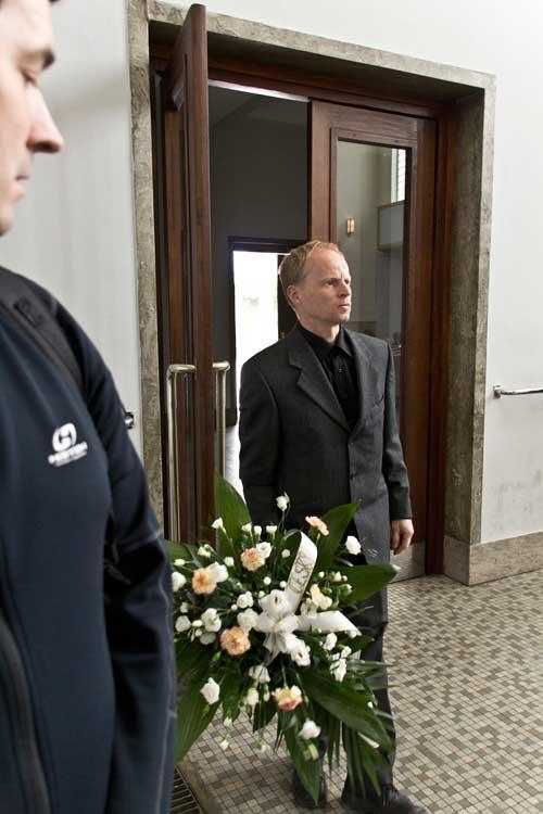 Petr Resch s kyticí od ČHS