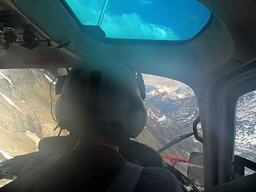 Pohked z vrtulníku