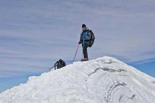 BOLIVIA, 13.6.–14.7.2013 - Parinacota (6342), vrchol.