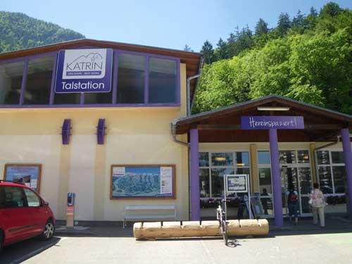 Klettersteig Katrin - Pohodlný přístup lanovkou Katrin