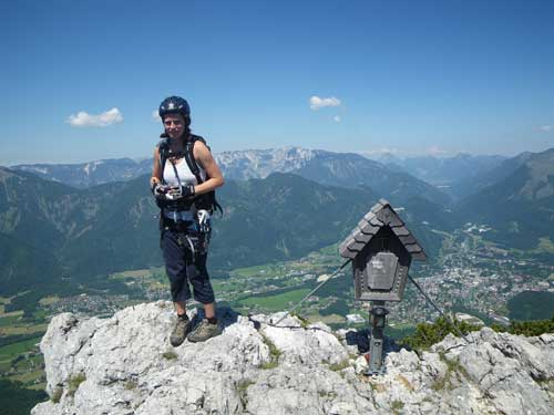 Klettersteig Katrin - Katka u vrcholovky