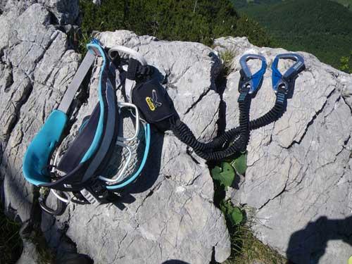 Klettersteig Katrin - Ferratový set Salewa VIA FERRATA ERGO TEX
