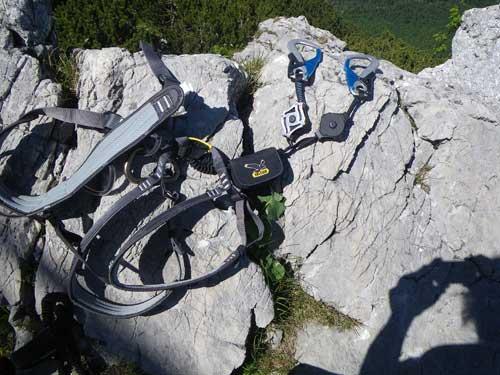 Klettersteig Katrin - Nejnovější set Salewa ERGO ZIP (2014)