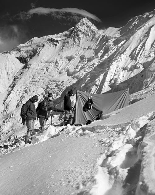 C2 dominantni vrchol Annapúrny II