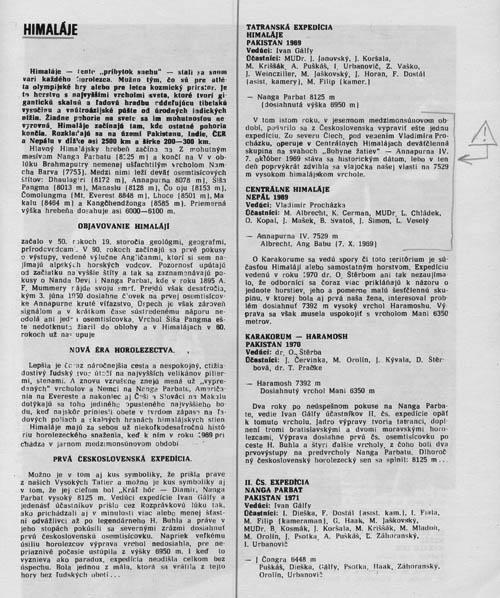 Sborník ČS expedičního horolezectví 1965-1977