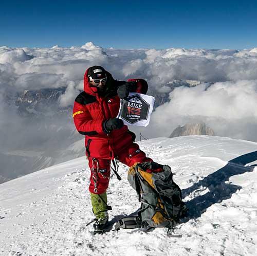Radek Jaroš na K2