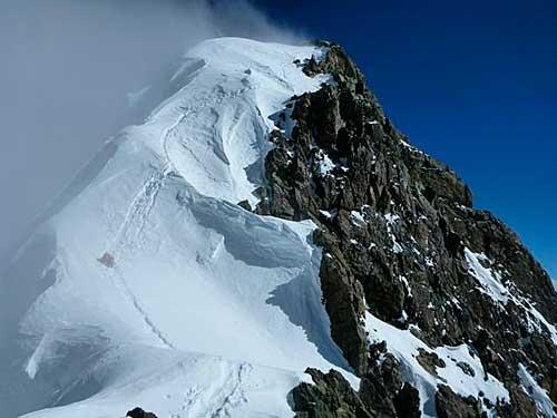 Na hřebeni Broad Peaku