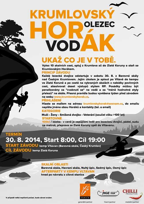 Pozvánka na Krumlovského Horáka