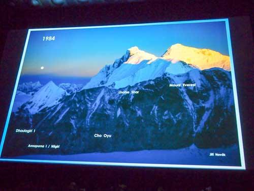 Pět expedic z roku 1984 - ve výčtu chybělo Nilgiri.