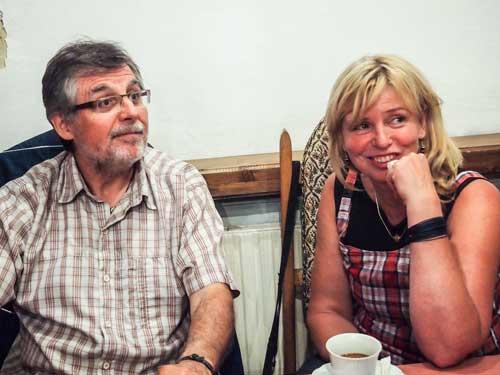 Zolo Demján s Janou Šimonovou