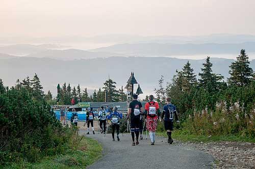 Běžci na Lysé Hoře