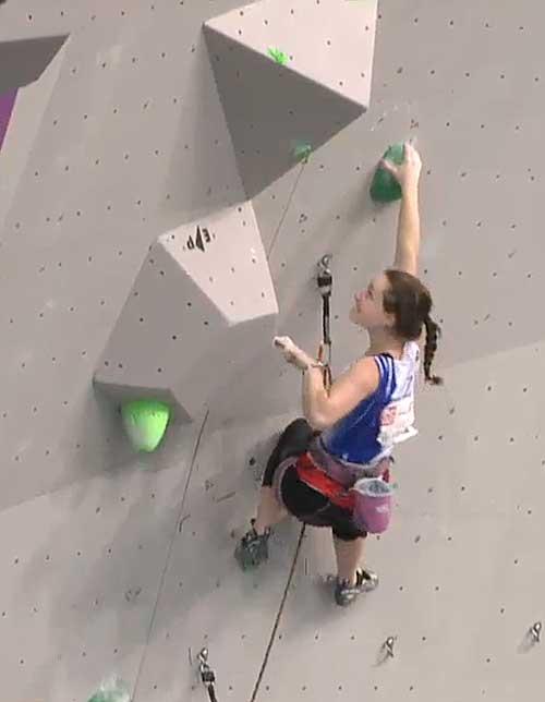 Iva Vejmolová v semifinále