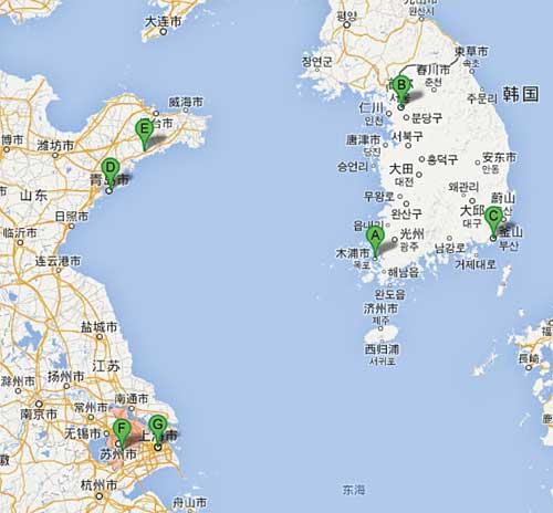 Wuijang - mapa