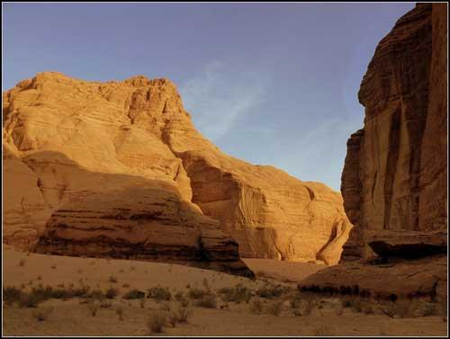 Jebel Barrah, Barrah Canyon -