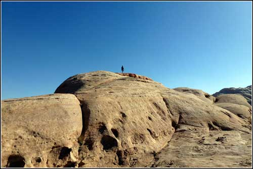 beduínská procházka