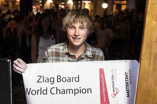 Zlagboard contest, Alex Megos
