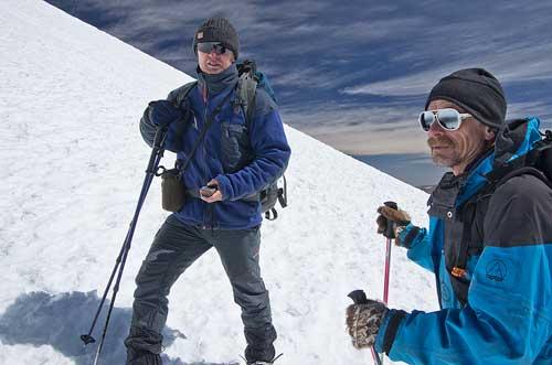 BOLIVIA, 13.6.–14.7.2013 - Parinacota (6342), výstup.