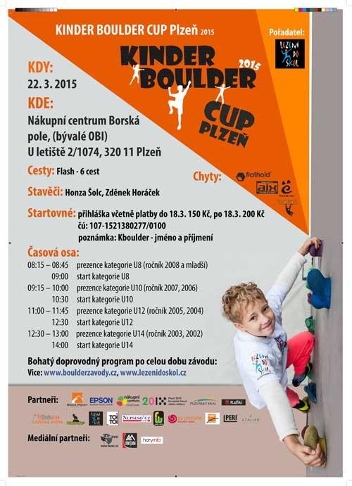 Kinder Boulder Cup 22. 3. 2015