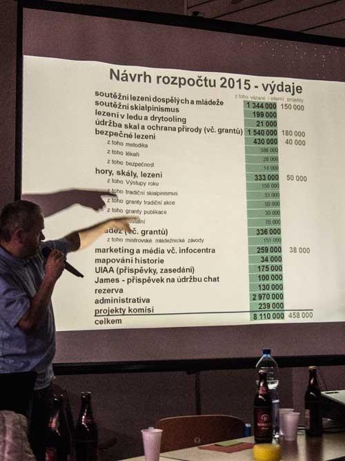 VH2015 Simon Budský prezentuje návrh rozpočtu
