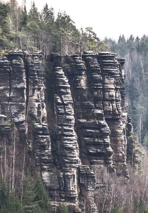 Dürrebielenadel, vpravo Dürrebielewand