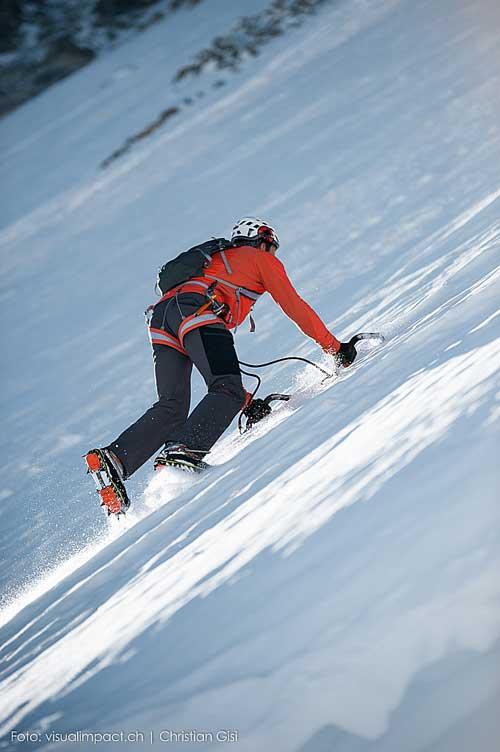 Dani Arnold při rychlostním rekordu