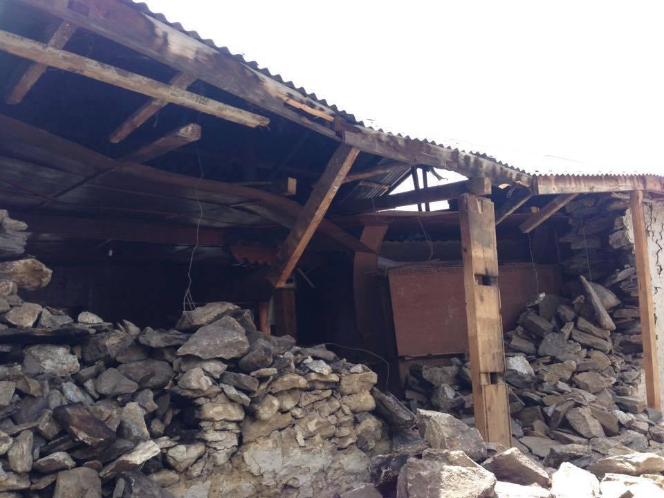 Lodge po 2. zemětřesení