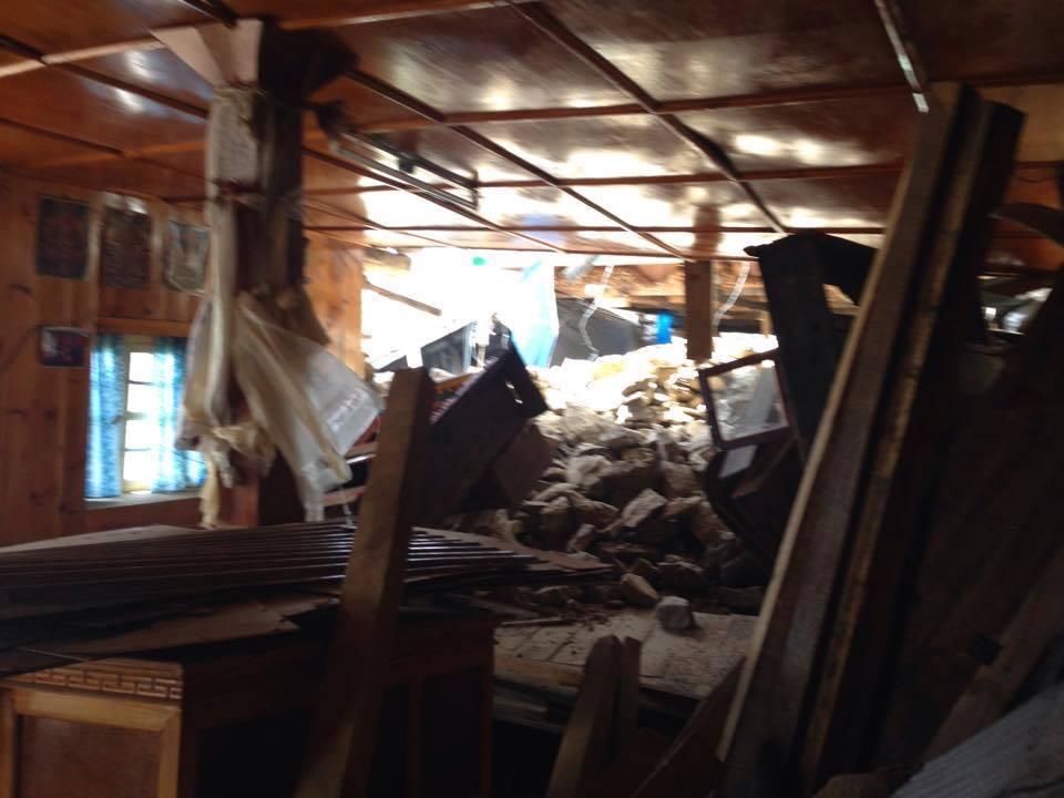 Lodge po 2. zemětřesení II