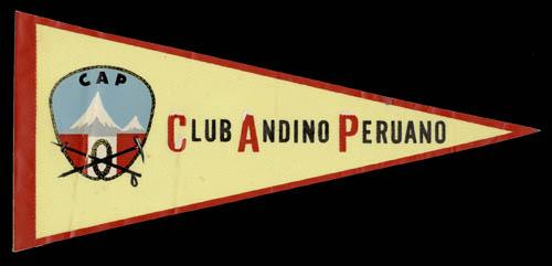 Vlajka Club Andino Peruano vlajka