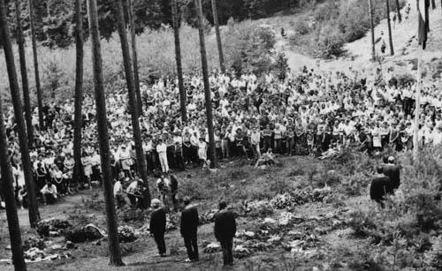 Panychida, sobota 11 června 1970