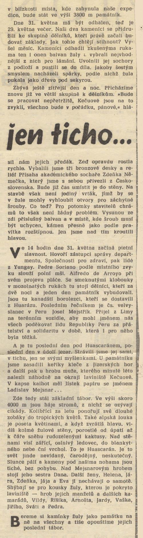 ČS sport 18. 8. 1972